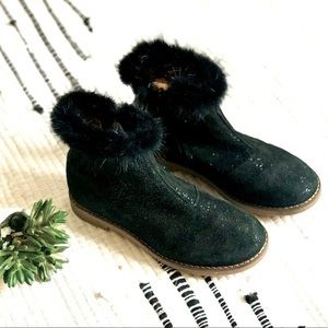Pom d'api French Leather boots size US 1.5 Eu 32